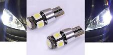 2 VEILLEUSES W5W LED BLANC XENON T10 CANBUS ODB VW EOS FOX GOLF 3 4 5 6 PLUS