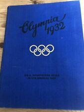 Buch OLYMPIA 1932  Los Angeles+Lake Placid (Reemtsma Chronik)
