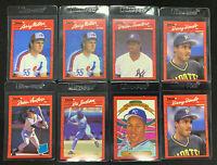 1990 donruss baseball RC HOF 8 lot Larry Walker Deion Sanders Bonds Bo Jackson