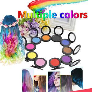 Hair Chalk Kids Girls Gift Temporary Dye Colors Kit Pastels Soft Salon Cream Set