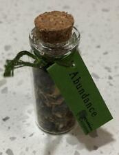 Abundance Herb-Filled Spell Bottle!