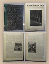 Lampe Über Berg und Tal Jahrgang 55 15. Bd 1932 Heft 1-12 komplett Ortskunde xy