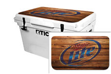 Thickest & Tuffest Lid Wrap for RTIC 65qt Cooler 24mils RTIC Wood Beer