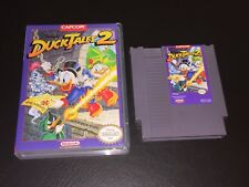 DuckTales 2 w/Custom Case Nintendo Nes 100% Authentic Cleaned & Tested