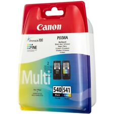 Canon Pg540 Black & Cl541 Colour Ink Cartridges for Pixma Mg355 GENUINE