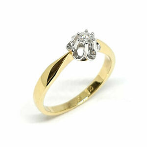 Antragsring, Damenring, Verlobungsring, 0,09 ct Diamant  ! ! ! mit Video ! ! !