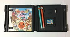 USED Nintendo DS Taiko no Tatsujin 7 Island Adventure w/ Drum Stylus JAPAN game