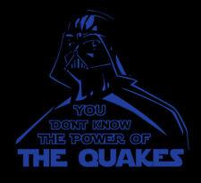 Darth Vader San Jose Quakes shirt Star Wars MLS Soccer Football Earthquakes