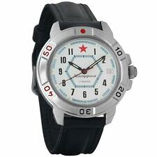 Vostok Komandirskie 431719 Military Russian Watch Special Forces White Red Star