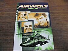 Airwolf - Season 1 (DVD, 2005, 2-Disc Set) (FREE FAST SHIPPING)