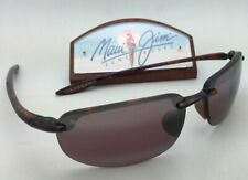 Polarized MAUI JIM Sunglasses HO'OKIPA MJ 407-10 Tortoise Frame Maui Rose Lenses