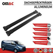 Alu Dachträger Gepäckträger Schwarz für Ford Tourneo Custom 2012-2021 TüV ABE