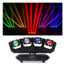 80W LED Moving Head Stage Lights RGBW 4IN1 Beam DMX 13/25CHs Lighting DJ Club