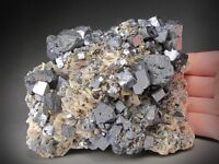 Galena and Sphalerite Crystals, Ottawa County, Oklahoma