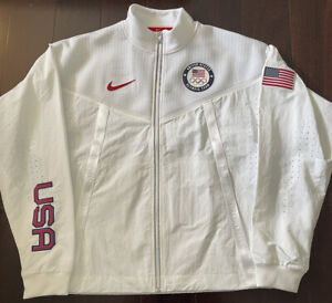 Nike Team USA 2020 Olympics Tech Pack Windrunner Jacket UNRELEASED $450 Size L