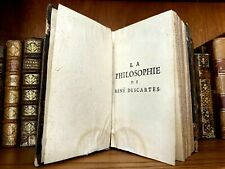 "1706 THE PRINCIPLES OF PHILOSOPHY BY RENÉ DESCARTES ""Cogito Ergo Sum"""