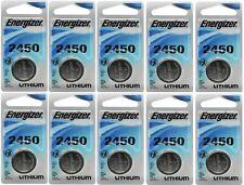 10 Super Fresh Energizer CR2450 ECR 2450 3v LITHIUM Coin Cell Battery Exp. 2026