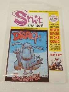 Sh*t the Dog Poster Magazine Issue 3 -  Bad Press LtD Comic