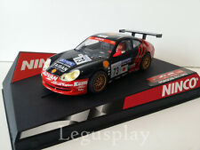 "SCX Scalextric Slot Ninco 50241 Porsche 911 GT3 R ""Taisan"" H.Fukuyama/B.Lambert"
