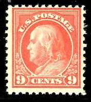 US #509 MNH OG  1917 Flat Plate Press, Unwatermarked; Perforated 11
