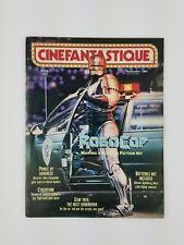 December 1987 Cinefantastique Magazine Robo Cop