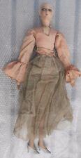 Ancienne poupée de salon époque 1930 en état grenier (5)