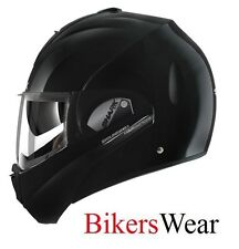 Shark Evoline Series 3 Fusion Gloss Black Flip Up Motorcycle Helmet ZE