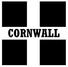 Cornwall Bandera-Posavasos-Juego De 4 divertido Posavasos-Regalo / Actualidad - A Estrenar