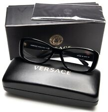 95d97c9c5ab NEW VERSACE MOD. 3228 GB1 BLACK EYEGLASSES GLASSES CASE 52-16-140 B35mm