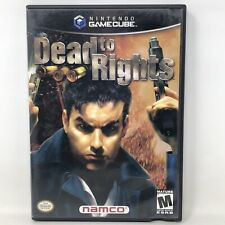 Dead to Rights - Nintendo GameCube - Complete w/ Manual