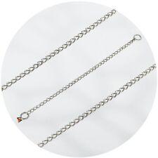 Herm Sprenger Stainless Steel 3.0mm Round Link Slip/Check Chain Dog Collar