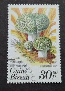 Guine Bissau 1985 Fungi - 1v Used