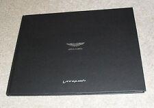 Aston Martin Vanquish Hardback Brochure - 2013-2014 Coupe & Volante - UK Market