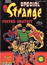 SPECIAL STRANGE 20 LUG ANNEE 1980  RARE  MAGNIFIQUE ETAT (SANS LE POSTER)