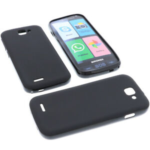 Custodia Per Brondi Amico Telefono Smartphone Protezione Cellulare TPU Nera