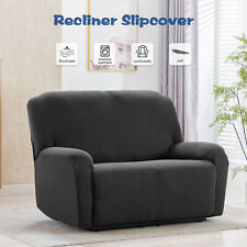 Recliner Chair Sofa Slipcover Stretch Fit Loveseat Furniture Protector Cover