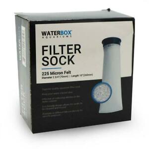 "CUBE FILTER SOCK (2.5"", 10"" LONG) FITS10, 15, 20 GALLON - WATERBOX"
