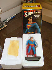 "DC DIRECT/BOWEN DESIGN ""SUPERMAN"" PORCELAIN MINI STATUE by JURGENS & BOWEN! MIB!"
