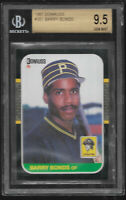 1987 Donruss Barry Bonds Pittsburgh Pirates #361 BGS 9.5 MINT Rookie Card