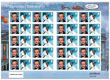 2004 XMAS LS21 HELLO PERSONALIZED STAMPS GENERIC SMILERS COMPLETE  SHEET