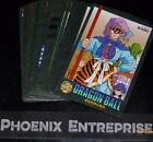 DRAGON BALL Z DBZ VISUAL ADVENTURE PART 5 CARD REG CARTE A L'UNITE/CHOOSE LIST