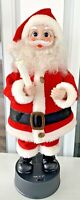 """Vintage Christmas Animated Santa Claus Candle Light Up Motionette 15"""""""