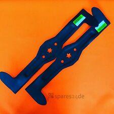 ACHTUNG 2 STK: Messer li+re für Rasentraktor 107cm Husqvarna, Partner