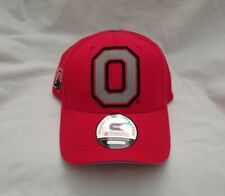 Ohio State Buckeyes Hat 3D Embroidered Red Cap