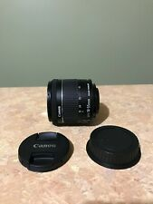 Canon EF-S 18-55mm f/4-5.6 IS STM Lens with Original Box