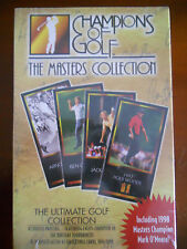 1997 TIGER WOODS ROOKIE CARD MASTERS VIDEO SITE OF US OPEN SCORECARD PHOTO BOOK