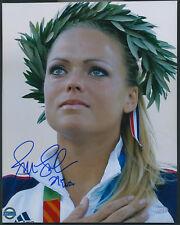Jennie Finch Medal Ceremony 8x10 Photo Autographed Steiner COA Team USA Jenny