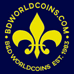 B&D WORLD COINS