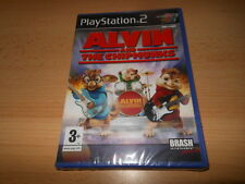 Alvin And The Chipmunks PS2 Nuevo Empaquetado Pal
