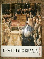 L'escurial et la Granja Larousse par Juan De Contreras de lozoya